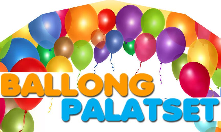 Konkurrenceindlæg #1 for Design a logo for Ballong palatset (Balloon palace)
