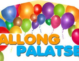 #1 for Design a logo for Ballong palatset (Balloon palace) af Matteivs