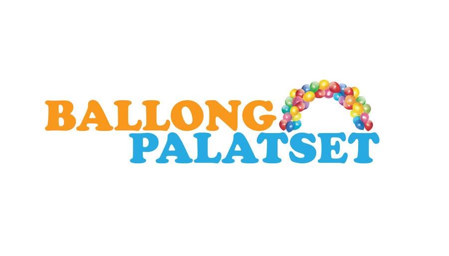 Konkurrenceindlæg #25 for Design a logo for Ballong palatset (Balloon palace)