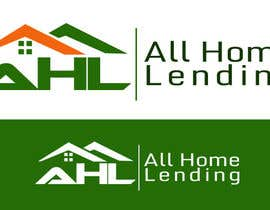 nº 58 pour Design a Logo for All Home Lending par wilfridosuero