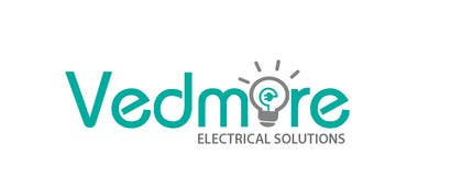 #23 untuk Design a Logo for Vedmore Electrical Solutions -- 2 oleh darkavdarka