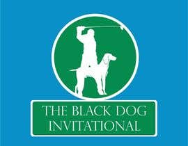 Nro 32 kilpailuun Design a Logo for The Black Dog Invitational (golf tournament) käyttäjältä bagas0774