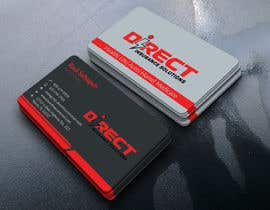 #293 untuk Direct Insurance Sol - Business Card Design oleh qualifiedacademy