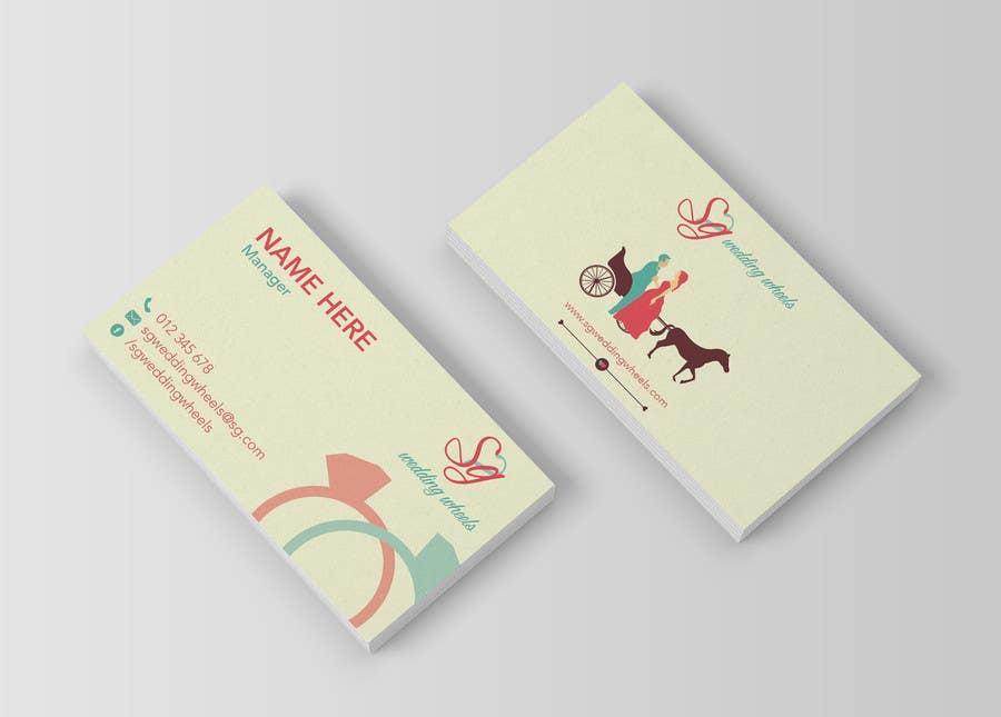 Contest Entry #25 for Design Business Cards / Logo for wedding car rental