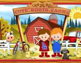nº 7 pour Illustration Design for Cute Boots Farms par richhwalsh