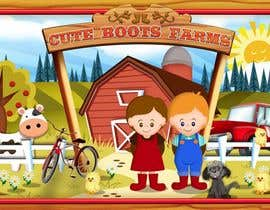 #6 para Illustration Design for Cute Boots Farms de richhwalsh