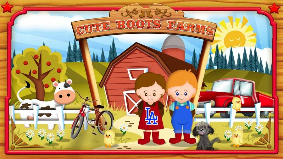 Contest Entry #8 for Illustration Design for Cute Boots Farms