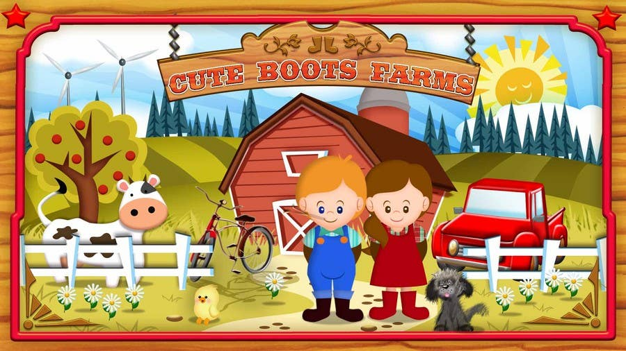 Contest Entry #14 for Illustration Design for Cute Boots Farms