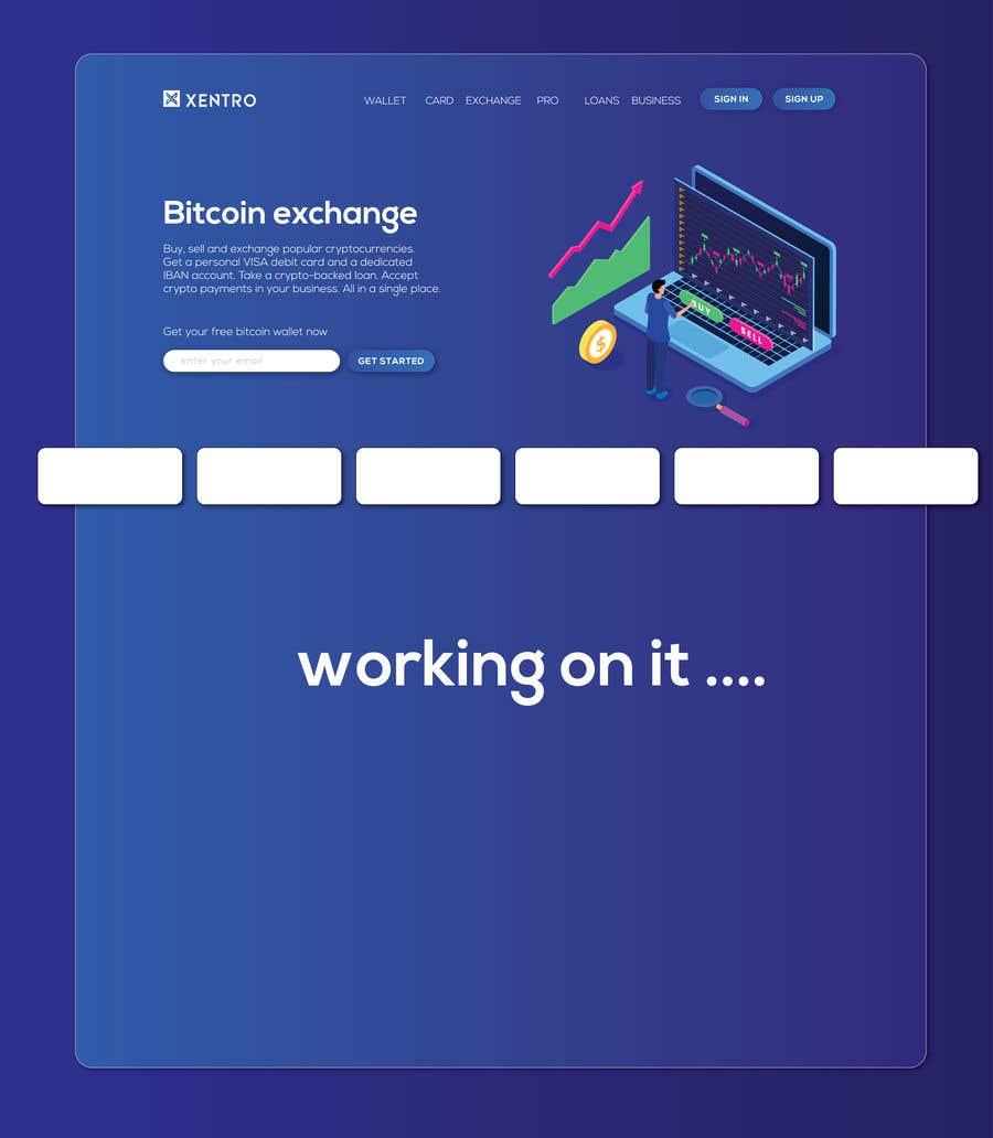 Konkurrenceindlæg #                                        36                                      for                                         Ui designing for Static pages of a Crypto platform.