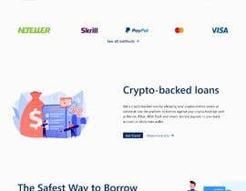 #31 for Ui designing for Static pages of a Crypto platform. by Rajumullah100