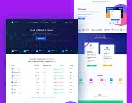 #15 for Ui designing for Static pages of a Crypto platform. by rabbibepari0