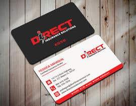 #115 untuk Direct Insurance Solutions - Business Card Design oleh bhabotaranroy