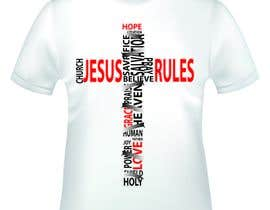 nº 37 pour Design a T-Shirt for Jesus Rules par littlesecretdesi