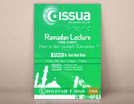 #23 for Flyer for 'Ramadan Lecture' af ahmedburo