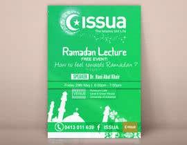 Nro 23 kilpailuun Flyer for 'Ramadan Lecture' käyttäjältä ahmedburo