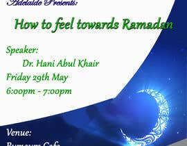 #7 cho Flyer for 'Ramadan Lecture' bởi alovestar62