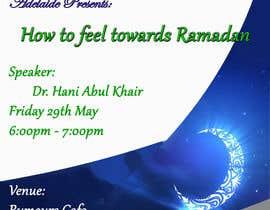 #7 for Flyer for 'Ramadan Lecture' af alovestar62