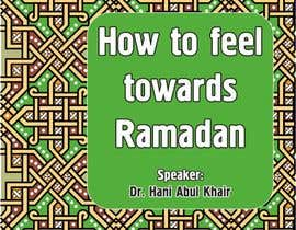 #12 for Flyer for 'Ramadan Lecture' af Vadimfreelance