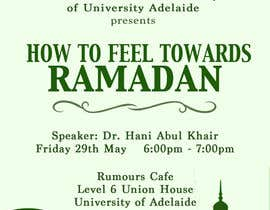 #13 cho Flyer for 'Ramadan Lecture' bởi jk94