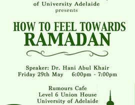 #13 for Flyer for 'Ramadan Lecture' af jk94