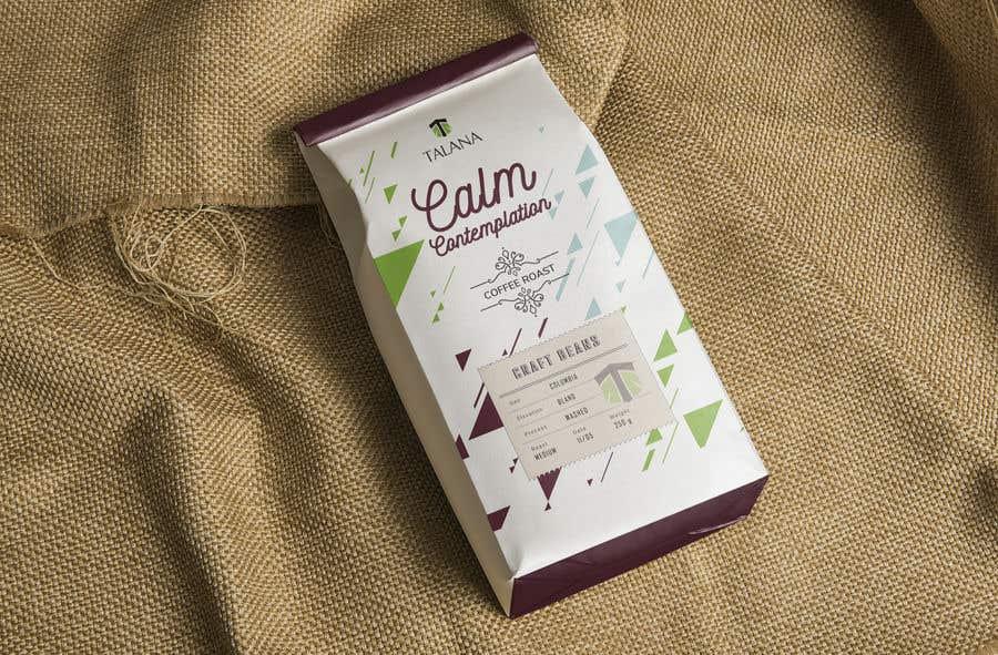 Kilpailutyö #                                        100                                      kilpailussa                                         Talana Coffee package label design