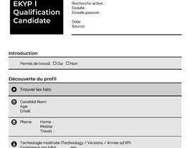 #4 untuk Créer une fiche sympa de renseignement interne oleh RyanShahriar