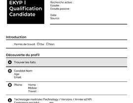 #5 untuk Créer une fiche sympa de renseignement interne oleh RyanShahriar