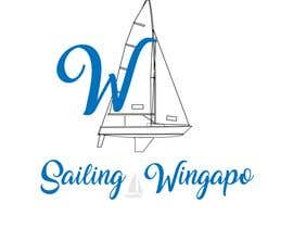 #331 untuk Sailing Wingapo Logo - for a family about to sail around the world oleh ismail80196