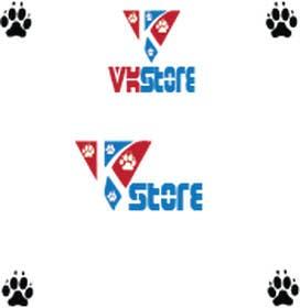 #24 untuk Projetar um Logo for VKStore oleh sgsicomunicacoes