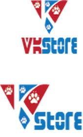 #25 untuk Projetar um Logo for VKStore oleh sgsicomunicacoes