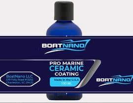 #4 for Design bottle label for Marine Pro Ceramic Coating af exaggeratedesign