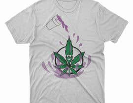 #38 for A logo for a t shirt. Weed leaf with eyes and mouth like it's a head and the hands at the bottom by MDNAJIMPARVES