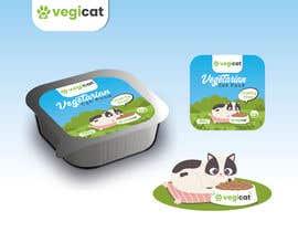 #73 for Design Cat Food Label af dimaemad