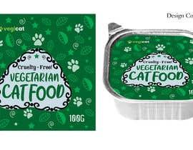 #104 for Design Cat Food Label af anishkrishna001