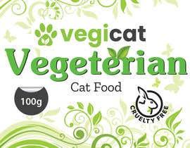 #134 for Design Cat Food Label af juborajdesigner