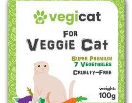 #20 for Design Cat Food Label af arifsalimin
