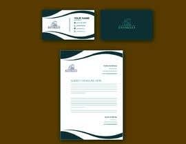 nº 36 pour identité visuelle : Papier à En-tête facture et lettres , Enveloppes Et Cartes De Visite , bannière de signature pour email par luphy