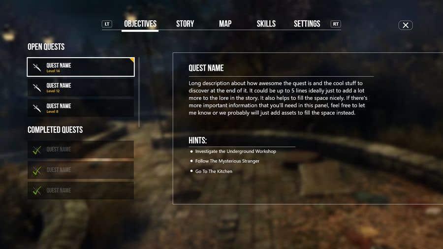Contest Entry #                                        4                                      for                                         Make Horror Game UI (VR)