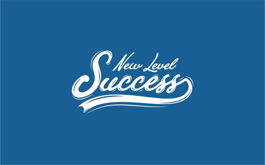 """Penyertaan Peraduan #                                        57                                      untuk                                         I need a logo designed. I want """"New Level Success"""" in the same style as the Dodgers logo that I will be attaching. - 05/04/2021 23:17 EDT"""