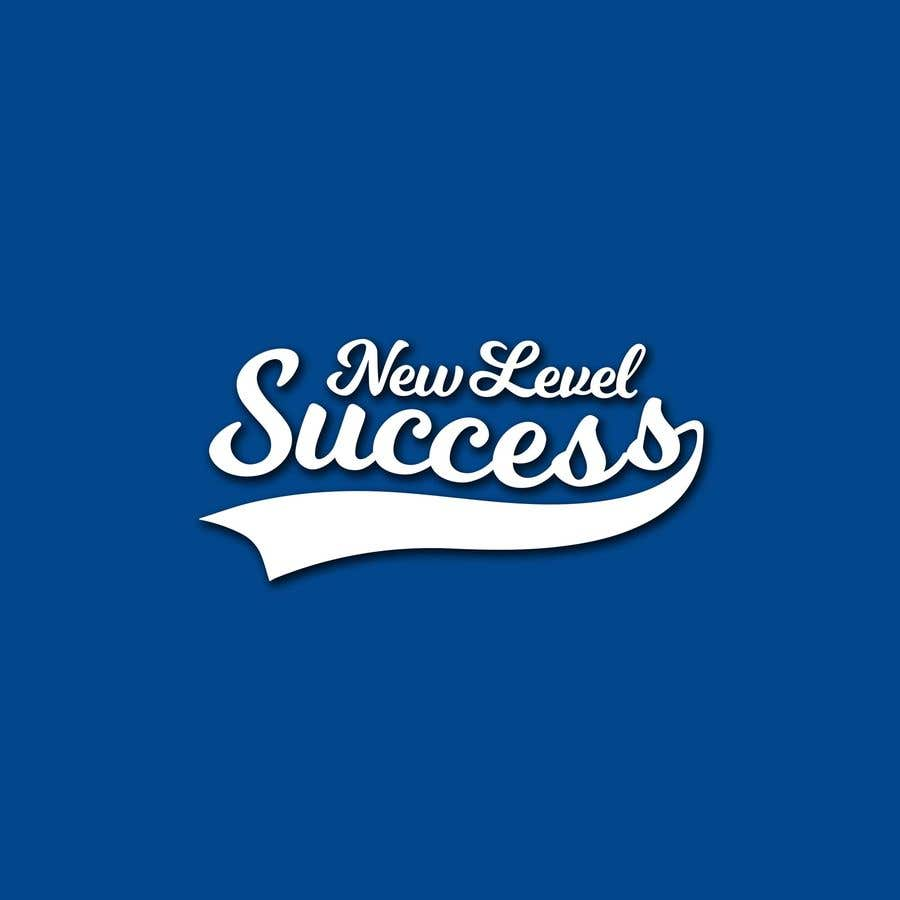 """Penyertaan Peraduan #                                        74                                      untuk                                         I need a logo designed. I want """"New Level Success"""" in the same style as the Dodgers logo that I will be attaching. - 05/04/2021 23:17 EDT"""