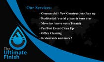 Design some Business Cards for Professional Cleaning company için Graphic Design19 No.lu Yarışma Girdisi