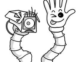 #52 для Draw me two robot-arm cartoon characters от meghpals
