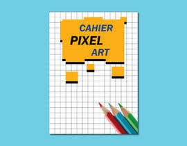 #14 for Pixel Notebook Cover Simple Design - Back&Forth. by islamrabi2435