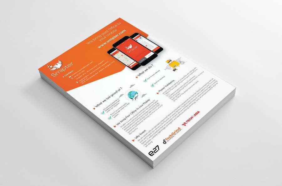 Contest Entry #                                        20                                      for                                         Design an A4 Brochure for Smipter's Executive Summary