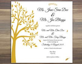 #3 untuk Design some Stationery for a Wedding oleh annahavana