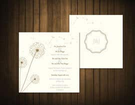 #16 untuk Design some Stationery for a Wedding oleh CozeeB
