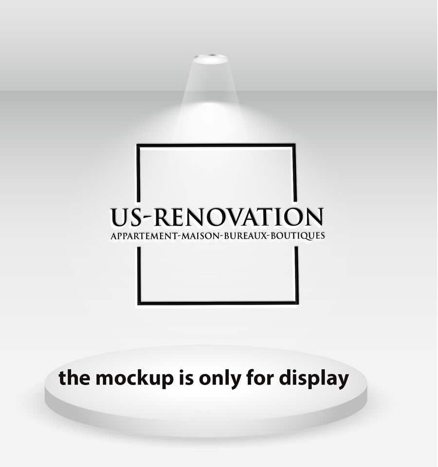 Proposition n°                                        7                                      du concours                                         je besoin crée logo pour ma entreprise de rénovation