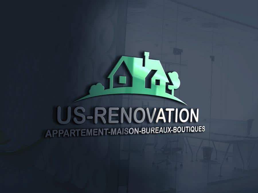 Proposition n°                                        105                                      du concours                                         je besoin crée logo pour ma entreprise de rénovation