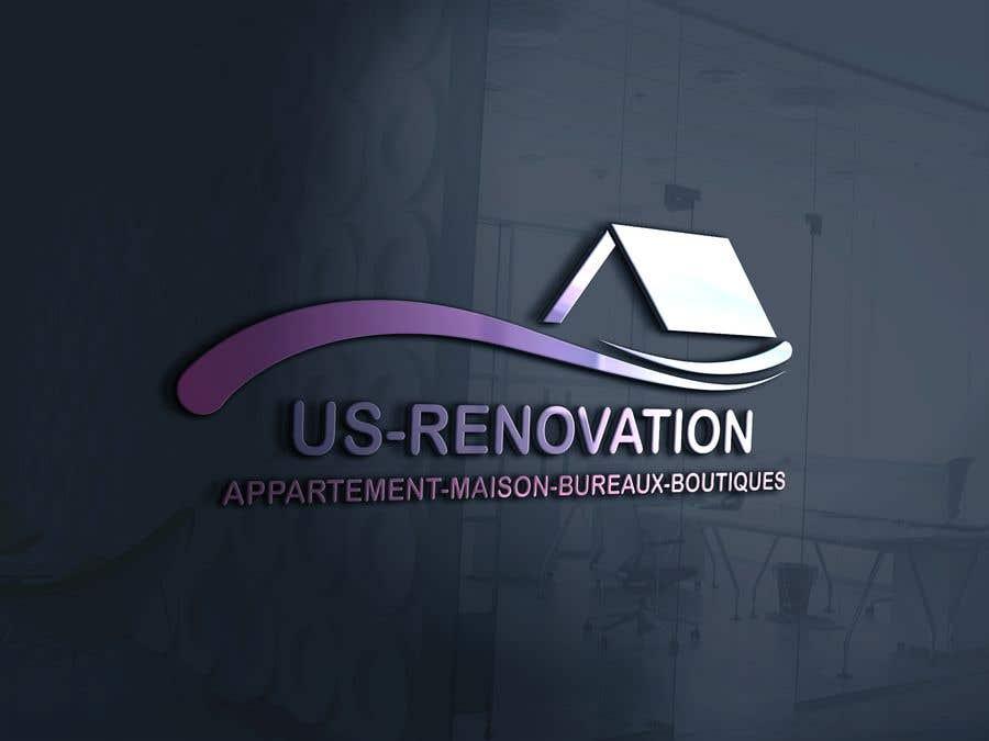 Proposition n°                                        113                                      du concours                                         je besoin crée logo pour ma entreprise de rénovation