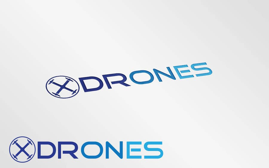 Konkurrenceindlæg #                                        50                                      for                                         Design a Logo for XDRONES.com